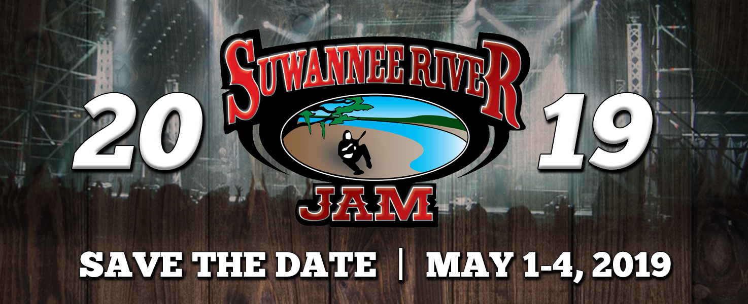 Suwannee River Jam - May 1-4, 2019 - Live Oak, FL